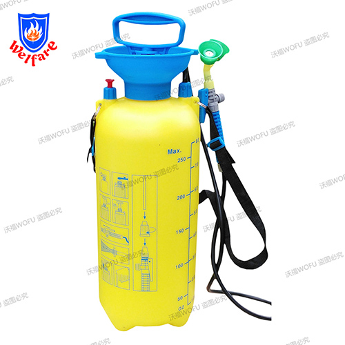 Portable Type Safety Shower Fire fighting